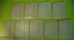 "DIXIE-NARCO Shim Spacer Glued Pad ""E""  2145, 5591 5/16"" 801812600.51 Quan 9 pcs"