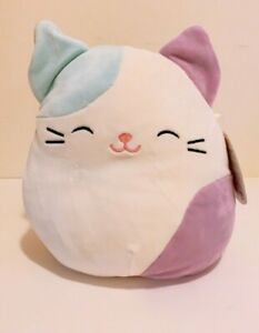"""Squishmallows Official 8"""" Cora the Easter Cat Animal Plush Doll Toy"""