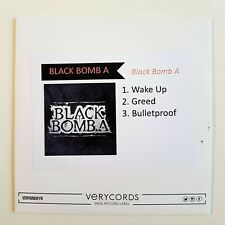 BLACK BOMB A - FRENCH NEW EP - WAKE UP / GREED ♦ CD Single Promo ♦