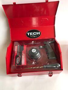 TECH 215 PERMACURE KIT Tubeless Tyre Repair in Steel Tool Box 222