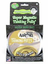 Gold Rush with Magnet Magnetic Crazy Aaron's Thinking Putty Large 4 inch tin 3.2