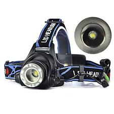 Rechargeable 2000Lm CREE XM-L T6 LED 18650 Zoomable Headlamp Headlight Torch r=