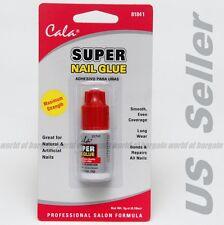 CALA Super Nail Glue Clear Fingernail Art MADE IN USA Adhesive Bond Fake Acrylic