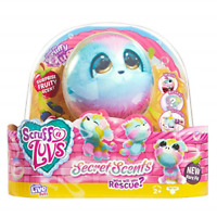 Little Live Scruff A Luvs Scented Surprise Reveal Rainbow Plush Cuddly Toy - Dog