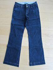 Arizona super Jeans Gr. 76 oder 38 lang weites Bein Nadelstreifen wie NEU