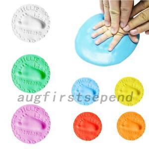 3 x Baby Handprint Clay Air Drying Soft Clay Baby Footprint Imprint Kit Casting