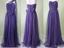 NWT ADRIANNA PAPELL Size 4 Strapless Tulle Convertible Gown/INFINITY Dress