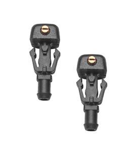 2 x Windshield Spray Nozzle for 2008-2018 FORD E150 E250 E350 E450 Econoline Van