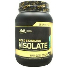 Optimum Nutrition Gold Standard 100% ISOLATE Whey Protein 24 Serves, 6 FLAVORS