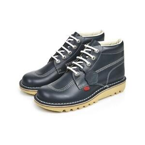 Kickers Womens Kick Hi W Core Dark Blue Boots UK 3 EUR 36