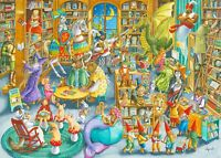 Ravensburger 16455 Midnight in The Library Jigsaw Puzzle 1000 Piece