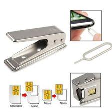Standard Regular Micro SIM Card to Nano SIM Cut Cutter For Apple5 iPhone5 5G LU~