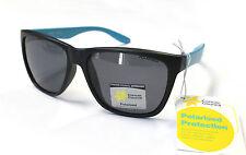 Cancer Council Unisex Fashion Polarised Sunglasses Wayfare Bondi Black Cyan