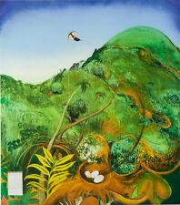 BRETT WHITELEY - 'The Green Mountain (Fiji)' - Decorative Australian Art Print