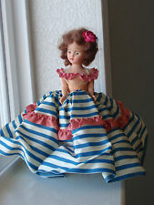 """Vintage 7 1/2"""" Doll    40's  or  '50's"""