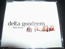 Delta Goodrem Born To Try Ultra Rare Australian Promo CD – SAMP2522