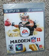 PS3 Playstation 3 Game EA Sports Madden NFL 11 Football Multiplayer Rated E NIP