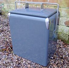 Clearance Vintage Retro Cool box PLAIN GREY Cooler 17L wedding present CLE206