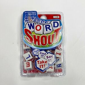 Word Shout Family Rambunctious Word Grabbing Dice Game For 2 to 6 Players NEW