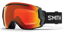 NEW Smith I/O7 Goggles-Black-Chromapop Red+Storm Lens-SAME DAY SHIPPING!