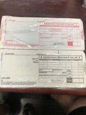 Credit Card Imprint Slips Carbon Slips New