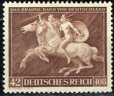 Germany WW2 Brown Ribbon Race Horse Munich Nude Amazones 1941 MLH