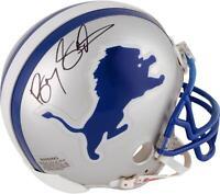 Barry Sanders Detroit Lions Autographed Riddell Mini Helmet - Fanatics