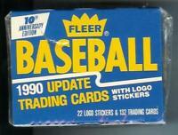 1990 Fleer Update baseball complete factory set