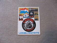 1975 LIONEL HO TRAINS  CONSUMER CATALOG NEW
