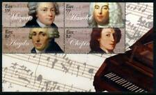 IRELAND 2009 Four Composers Sheet (1850b) - Mint Never Hinged