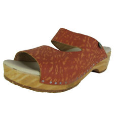 El Naturalista Womens N168 Iggdrasil Wood Clog Shoes, Henna, 38 EU/8 B(M)