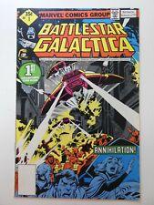 "Battlestar Galactica #1 ""Annihilation!"" Beautiful Vf- Condition!"