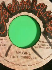 TECHNIQUES 45 MY GIRL  / VERSION TECHNIQUES