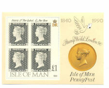 Isle of Man -Penny Black min sheet mnh - 1990 -