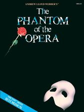 The Phantom of the Opera Sheet Music - Organ - Folio Book NEW 000290300