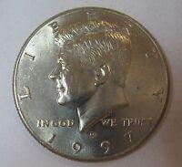 1997-D John F Kennedy Clad Half Dollar Choice BU Condition From Mint Set  DUTCH