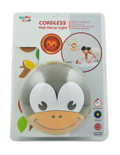 The Wunders Company Cordless Wall Decor Night Light - Multi Colored Momo Monkey