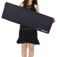 900*300*3mm Large Plain Black Extended Rubber Speed Gaming Mouse Pad Mat