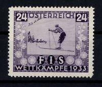 P130294/ AUSTRIA – FIS 1933 / Y&T # 427 MINT MH CV 176 $