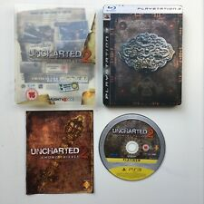 Playstation PS3 game - UNCHARTED 2 AMONG THIEVES - Limited Edition Steelbook