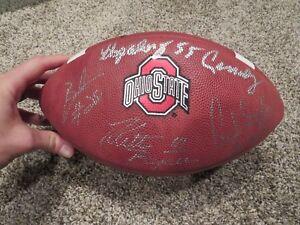 Ohio State Heisman Running Back autographed Football Eddie George Griffin 8