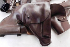 Holster for 32 380 9x18 Pistols Russian Brown Leather Flap type Walther PP GLPMU