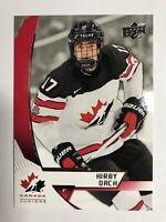 2019 Kirby Dach Upper Deck Team Canada Juniors Rookie