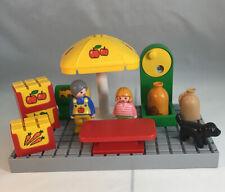 Vintage Playmobil Fruit & Vegetable Market 6602