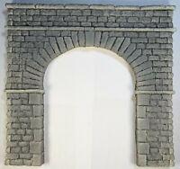 6161 Single Track O scale Tunnel Portal Cut Stone Brick PRP