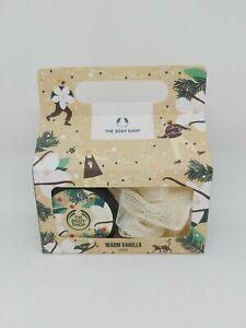 body shop warm vanilla duo set new in box