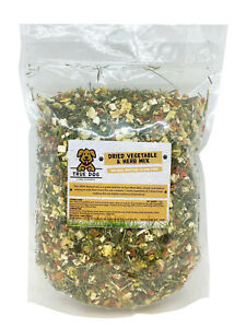 Dried Vegetable & Herb Mix for Dogs 1kg - Raw Food - BARF Diet - Natural Veg Mix