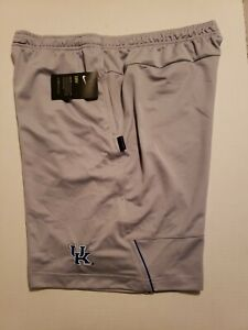 Nike Kentucky Wildcats Shorts Standard Fit Men's Sz L NEW AR6887-007 Grey/Royal