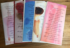 "Hallmark ""Personal Expressions"" Love/Romance Cards w/ Envelopes Lot of 5"