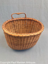 Antique Single Handle Nantucket Lightship Basket by Mitchy Ray